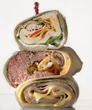 Sandwich wrap Royalty Free Stock Image