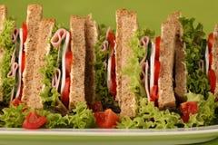 Sandwiche lizenzfreie stockbilder