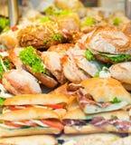 Sandwiche Stockfotografie