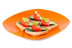 Sandwiche Stockfoto