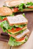 sandwiche Nahrung Neues u. gesundes Lebensmittel Konzept Stockfotografie