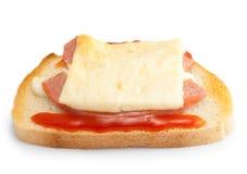 Sandwiche quente Fotos de Stock