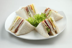 Sandwiched Stock Photos