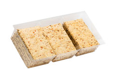 Sandwiched Cookies with carrots Royalty Free Stock Photos
