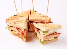 Sandwiches Royalty Free Stock Images
