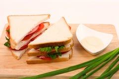 Sandwiches Stock Foto
