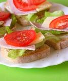 Sandwiches stock image