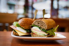 Sandwiches Stock Afbeelding