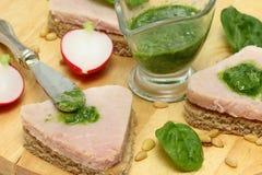 Sandwiches Royalty-vrije Stock Foto