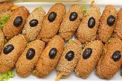 Sandwiches Royalty-vrije Stock Foto's