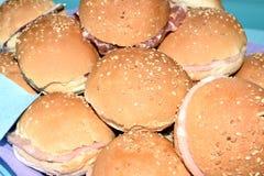 Sandwiches Royalty-vrije Stock Fotografie