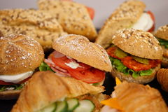 Sandwiches Stock Afbeeldingen