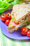 Sandwiches with bacon, lettuce and tomato Royalty Free Stock Photography
