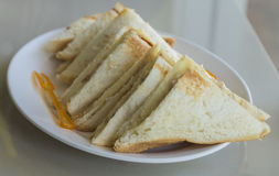 Sandwiches Stock Photography