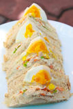 Sandwiches egg. Stock Photo