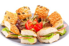 Sandwiches Stock Images