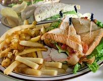 Sandwiches op Platen Stock Fotografie