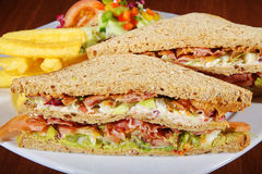 Sandwiches Royalty Free Stock Image