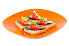 Sandwiches Stock Photo