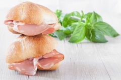 Sandwiches Sub Royalty Free Stock Photo