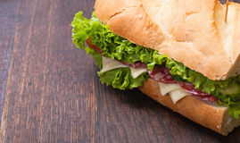 Sandwiches Royalty Free Stock Photos