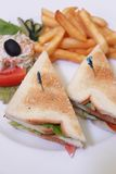 Sandwichnahrung Lizenzfreies Stockfoto