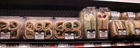 Sandwichs à épicerie Photos libres de droits