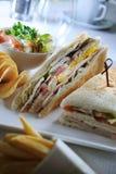 Sandwichs à salade Photographie stock