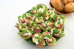 Sandwichs à temps de source Image libre de droits