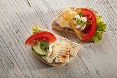 Sandwichs Στοκ εικόνα με δικαίωμα ελεύθερης χρήσης