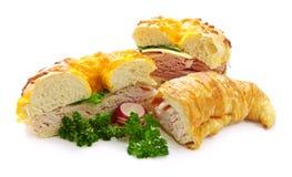 Sandwichs Images libres de droits