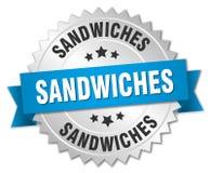Sandwichs illustration de vecteur