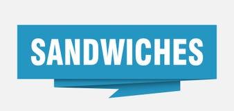 Sandwichs illustration stock