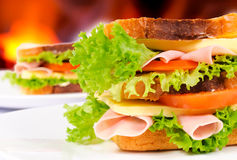 Sandwichs Photographie stock