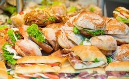 Sandwichs Photos libres de droits