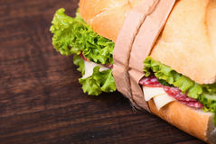 Sandwichs Photo libre de droits