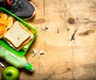 Sandwichs avec du jambon et le fromage Photos stock