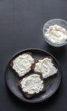 Sandwichs avec le fromage fondu Photographie stock