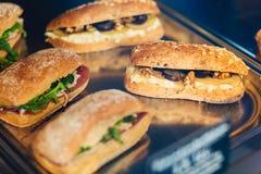 Sandwichs délicieux Image stock