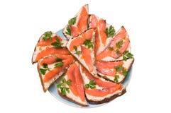 Sandwichs du compatriote. Image libre de droits