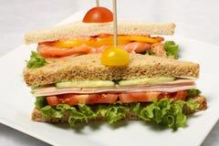 Sandwichs fermés Photos libres de droits