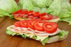 Sandwichs frais Photo stock