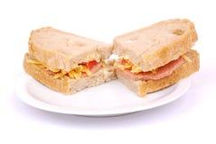 Sandwichs italiens à Ciabatta Photo stock