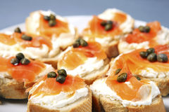 Sandwichs juifs Images stock