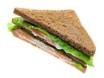 Sandwichs saumonés Photo stock