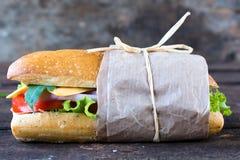 Sandwichzeit stockbild