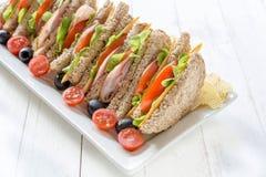 Sandwichzeit Stockfotografie