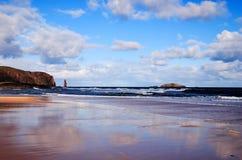 sandwood пляжа Стоковое Изображение RF