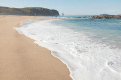 Sandwood bay beach. Royalty Free Stock Photography