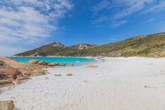 Sandy меньший пляж, Albany западная Австралия Стоковые Изображения RF